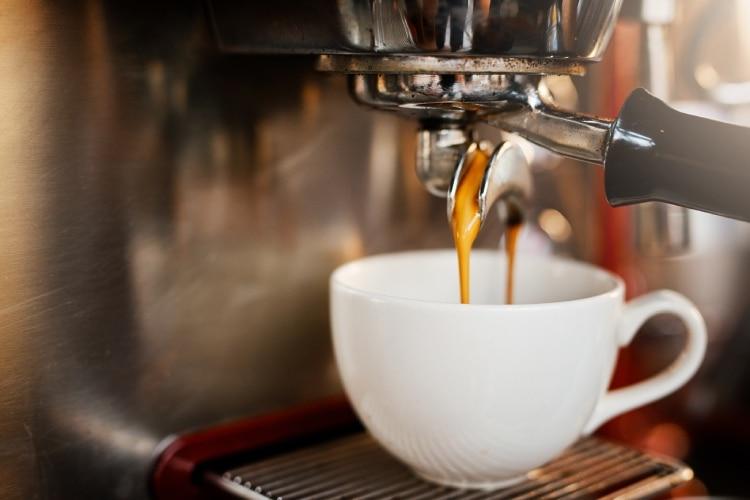 Máquina de café portuguesa