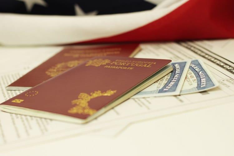 Pedidos de Golden Visa em queda em Portugal passaporte