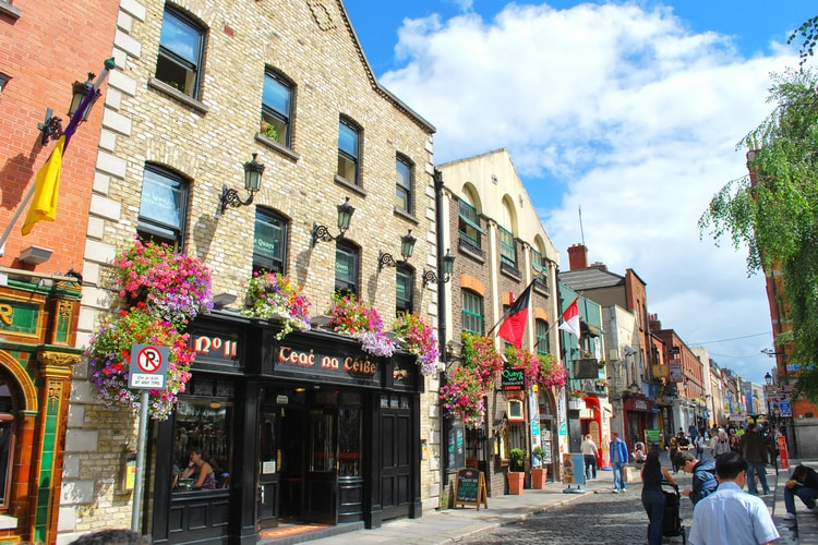 Viver em Dublin