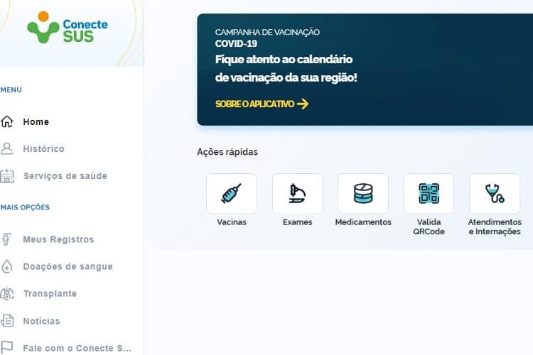 Certificado de vacinação covid-19 Brasil