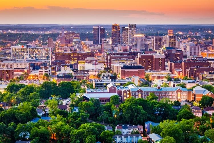 Birmingham na Inglaterra