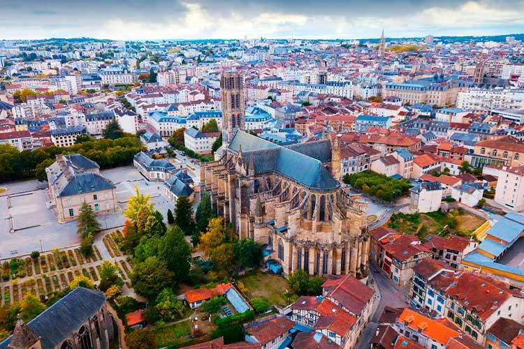 Limoges cidade-barata