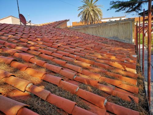 Stato attuale del tetto