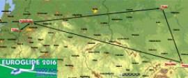Euroglide 2016 route
