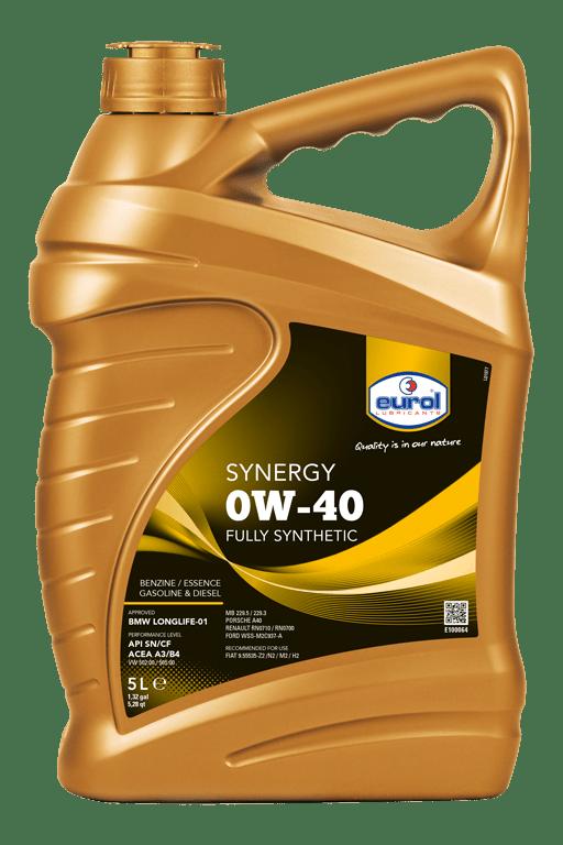 Eurol Synergy 0W-40 Арт. E100064-5L