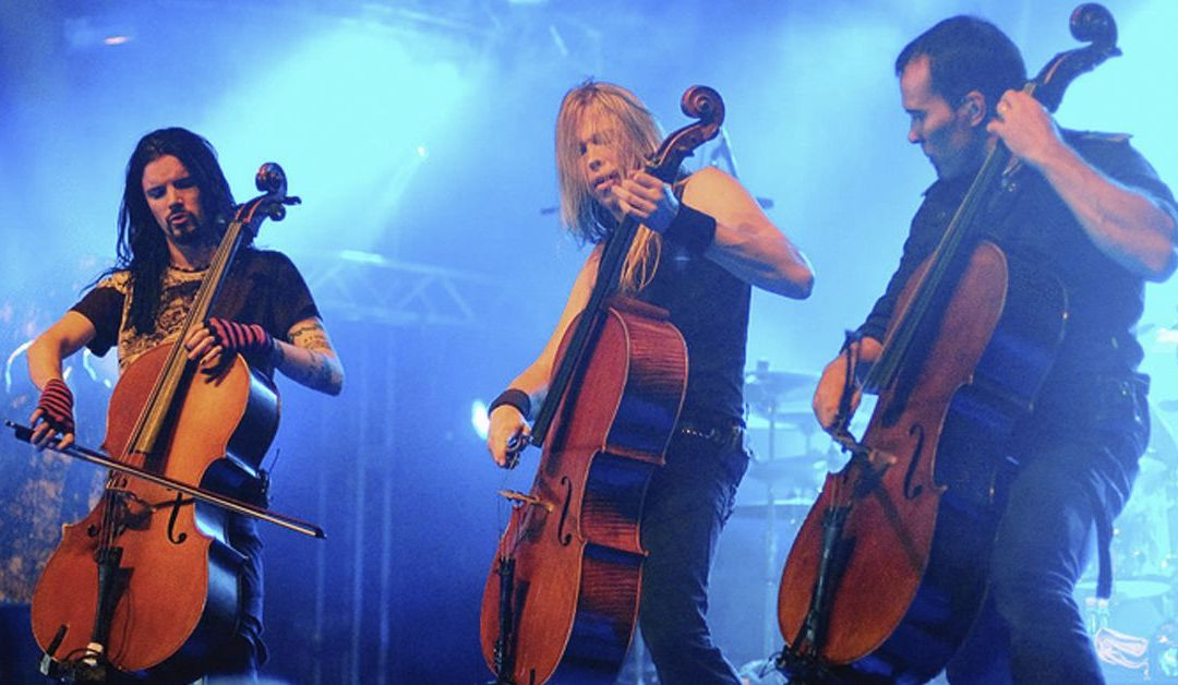 Apocalyptica celebra los 20 años de Plays Metallica by four cellos