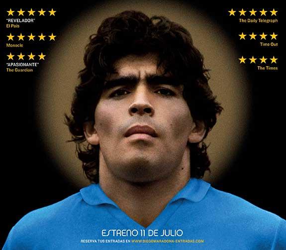 Diego Maradona por Asif Kapadia