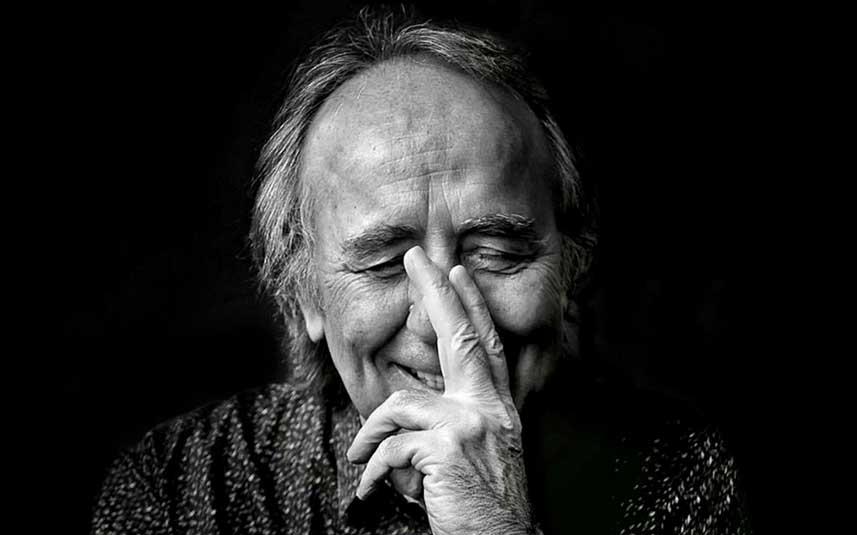 Calamaro canta el primer adelanto del disco homenaje a Serrat