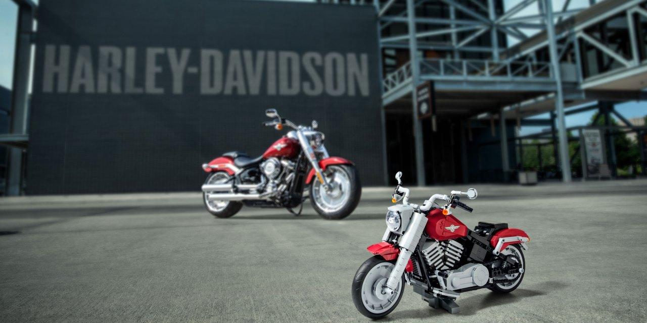 Nueva Harley-Davidson Fat Boy, ¡de Lego!