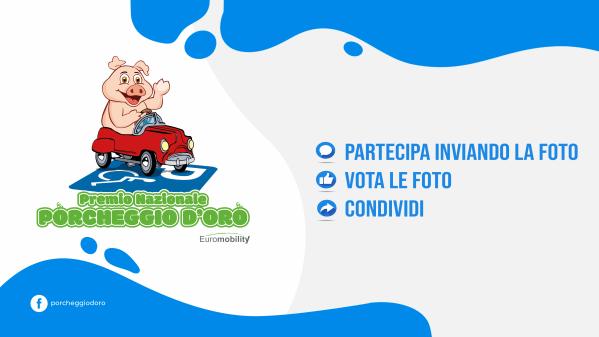 """Al via il premio nazionale """"Porcheggio d'oro"""" promosso da Euromobility"""
