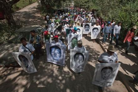 Continúa descontento por nornalistas desaparecidos en Guerrero. Foto: Germán Canseco