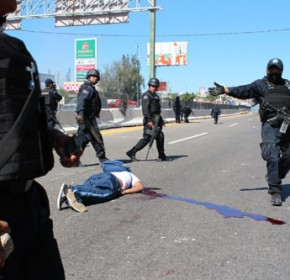 Ayotzinapa, armas para la represión