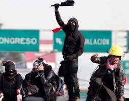 Manifestantes del 1D