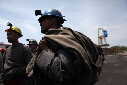 Mineros en Coahuila