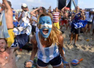 Argentine en finale de coupe du monde