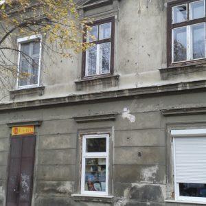 Utolsó háborús nyomok egy soproni házon