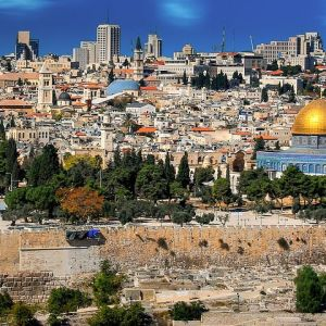 Jeruzsálem a világ közepe