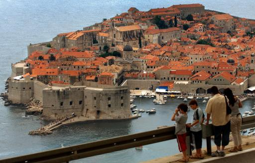Dubrovnik, Croatia. Even prior to EU membership the country is  already popular with European holiday makers. ©Belga