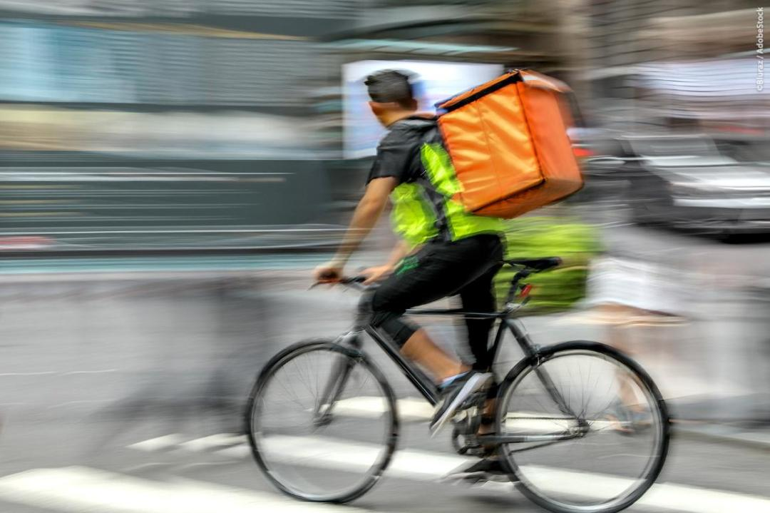 Fair working condition - Bicycle rider