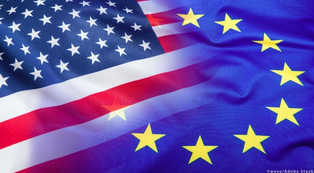 The Future of EU-US relations illustration photo. ©Weyo/AdobeStock