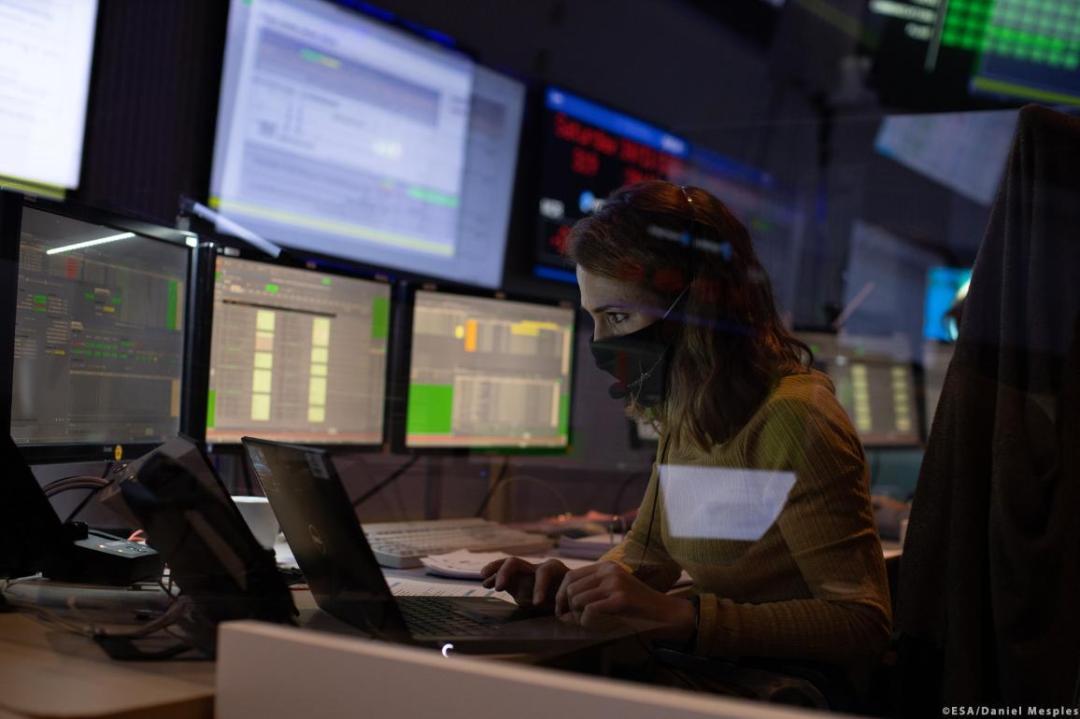 State of the EU cyber defence capabilities ©ESA/Daniel Mesples
