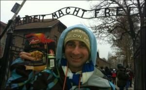 Bernard Junod un prof abruti a Auschwitz