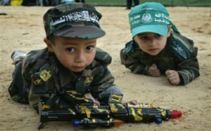 Enfants endoctrinés par le Hamas