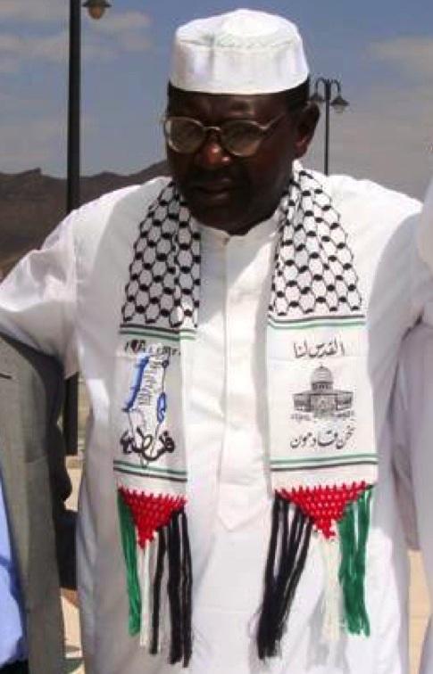 Malik Hamas Scarf 2010 Quand Malik Obama, le frère de Barack Obama, rejoignit le Hamas et déclara: «Jérusalem est à nous; nous arrivons»