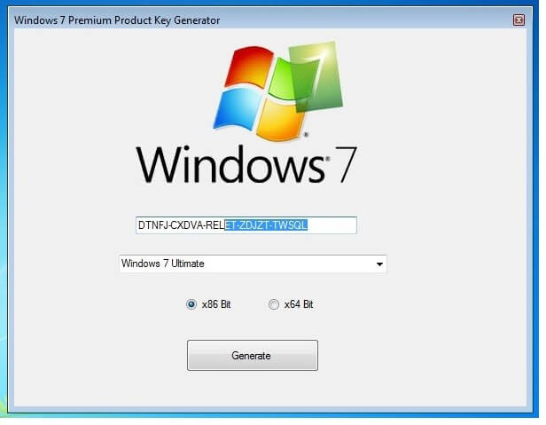Windows 7 Product key and Activation Keys For (32-64 Bits)  [Latest]