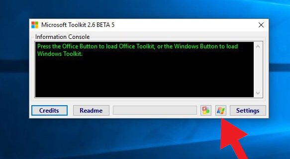 Active Windows Using Microsoft Toolkit
