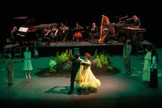 Sindo Puche und Zhang Qiwen - Walzer Tänzer bei den Festwochen in Wien
