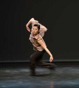 Ester Balfe beim Fifoo Tanzfestival in Wien