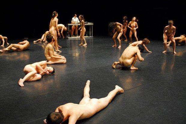 """More than naked"" Uraufführung ImPulsTanz"
