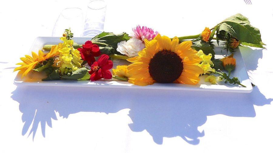 Essbare Blumen (c) European Cultural News