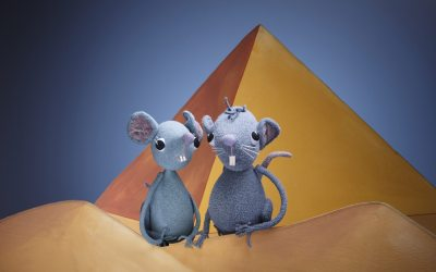 Mäuse leben gefährlich