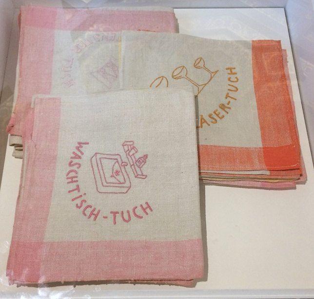 Originale Putztücher aus dem Besitz der Familie Glück (c) European Cultural News