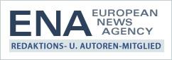 Autoren- und Journalisten-Siegel von European News Agency - Nachrichten- und Pressedienst