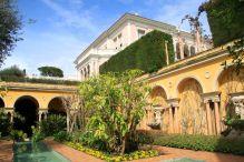 Spanish Garden at Villa Ephrussi de Rothschild in Cap Ferrat