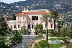 The pink Ephrussi de Rothschild Villa