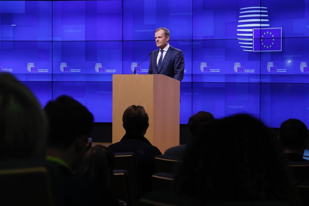'Short' Brexit Extension 'Possible' But Only if UK Parliament Backs Deal, EU's Tusk Says