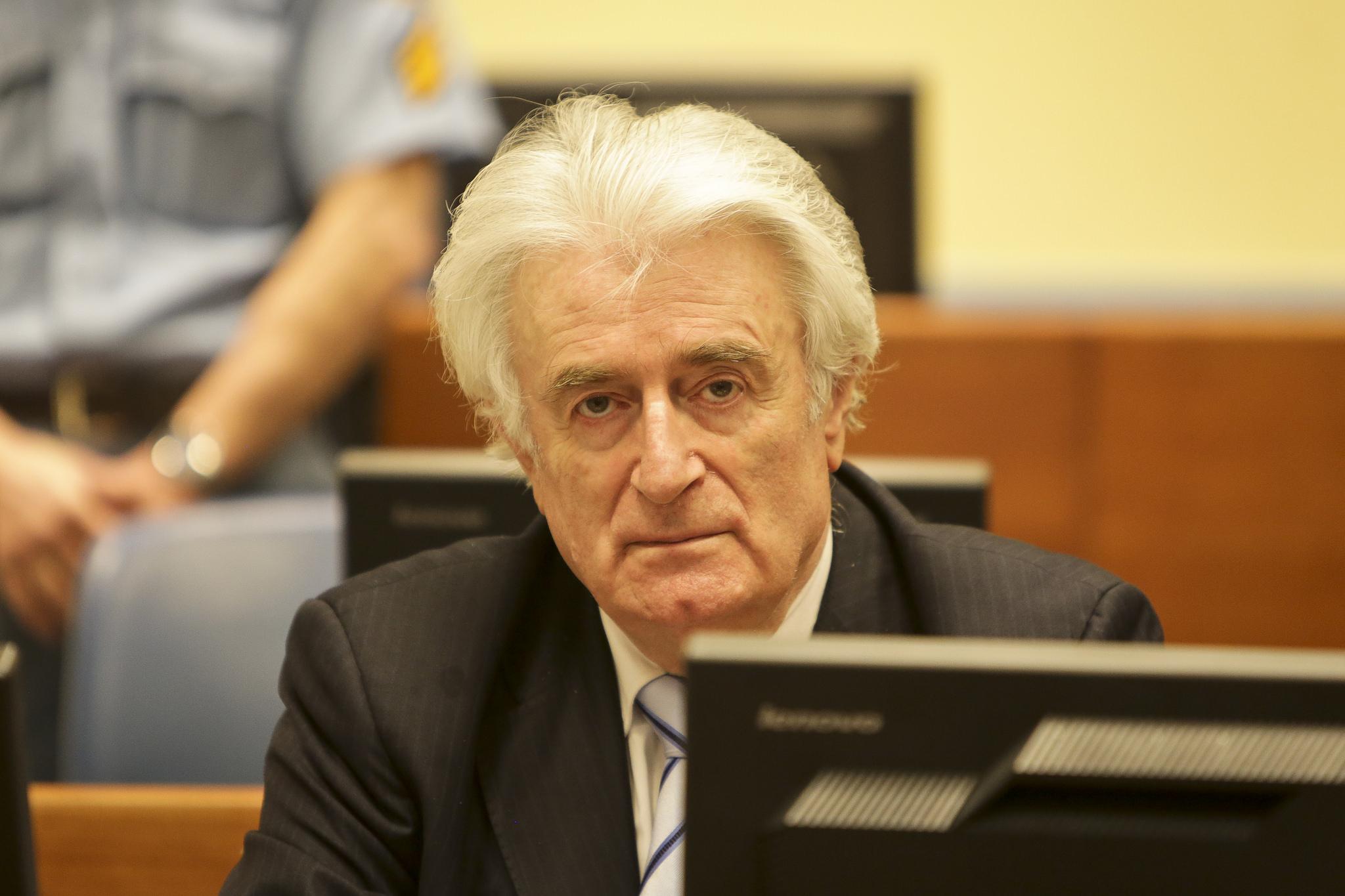 Former Bosnian Serb Leader Radovan Karadzic Sentenced to Life
