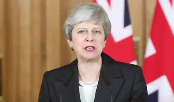 May Pits Parliament against 'Tired' Public in New Plea to 'Get On with' Brexit