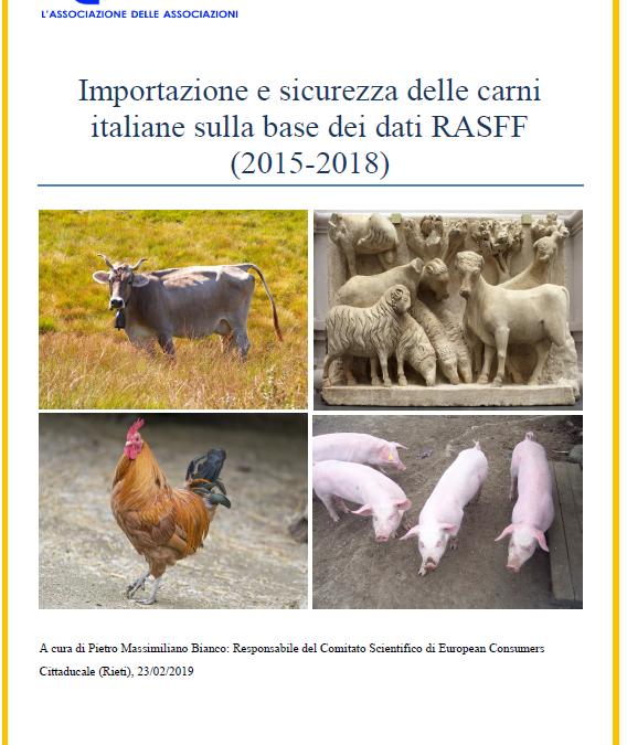 Nuovo rapporto su importazione e sicurezza delle carni italiane