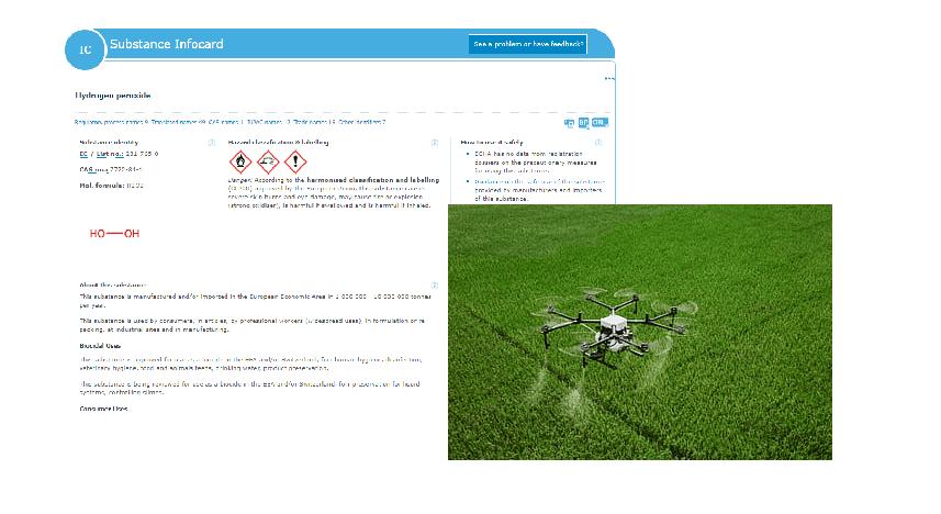 Droni per sanificare l'aria con acqua ossigenata: il delirio avanza