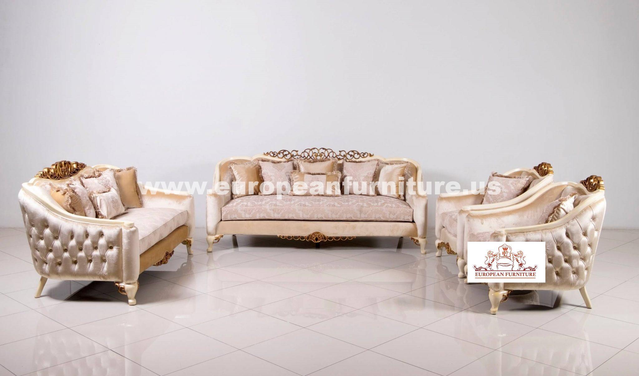 Angelica Luxury Sofa Set European Furniture