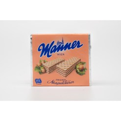 Manner Hazelnut Wafers 75g Vegan
