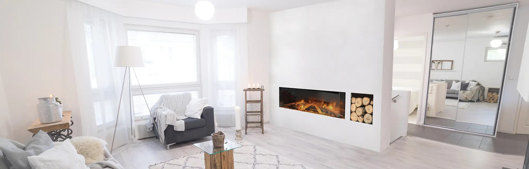 Modern Electric Fireplaces Highly Efficient Elegance By