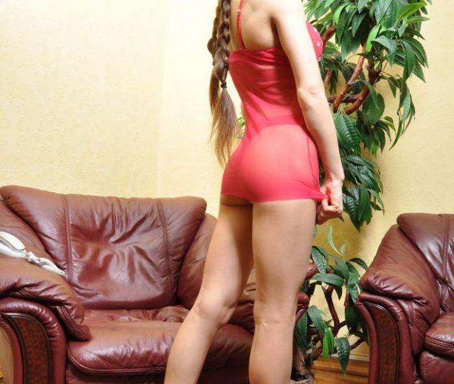 European Teen Hottie In Heels And Lingerie