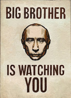 Putin politics, or How Big Brother is watching you!