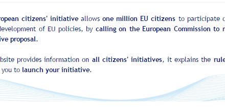 ECI recap at the European Parliament